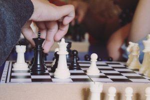 Szachiści podczas gry