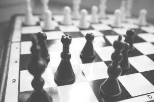 Plansza z szachami